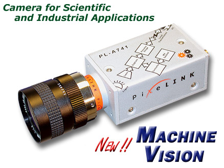 NEW PL-A741 FireWire Machine Vision Camera--Click for more information